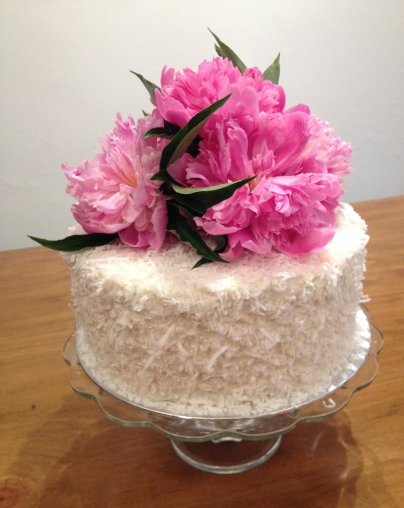 Club sandwich flower cake
